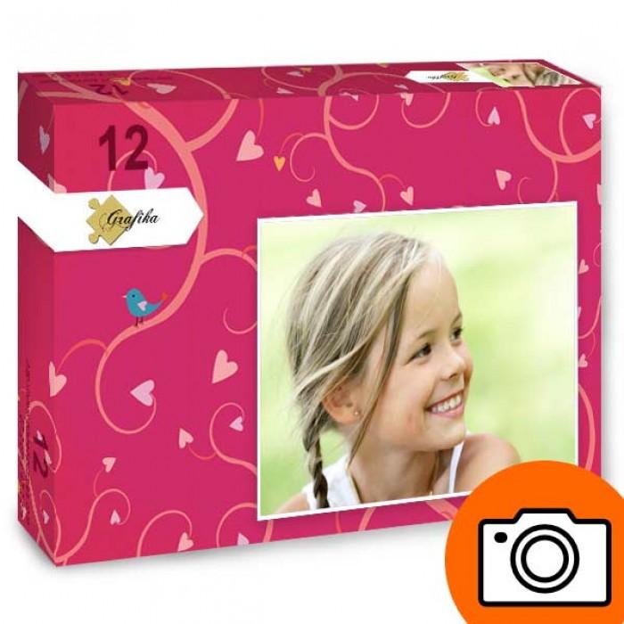 12 Teile Fotopuzzle - XXL Teile