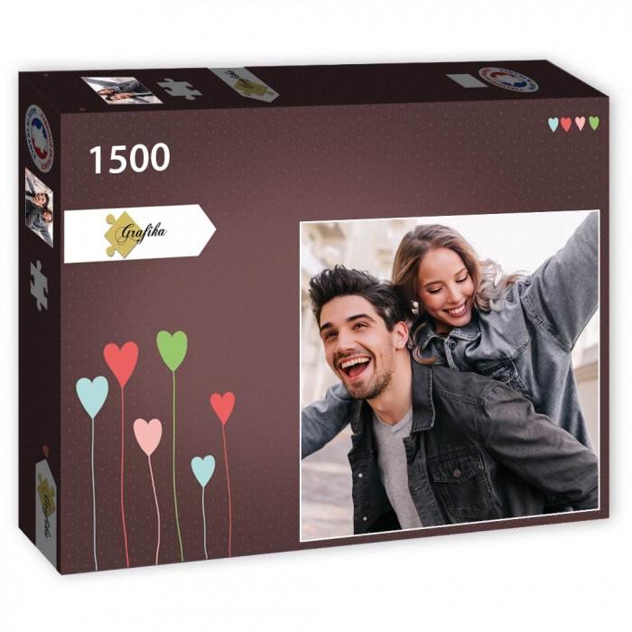 1500 Teile Fotopuzzle - Quadrat