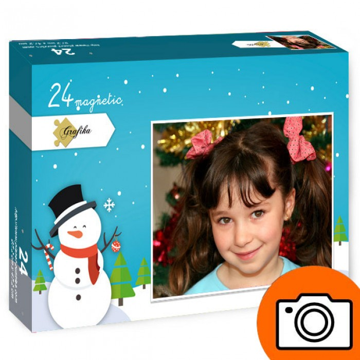 24 Teile Fotopuzzle - magnetisch