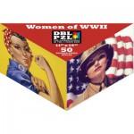 Pigment-and-Hue-DBLROSIE-00901 Beidseitiges Puzzle - Amerikanische Frauen im 2ten Weltkrieg