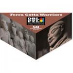 Pigment-and-Hue-DBLTERRA-01002 Beidseitiges Puzzle - Krieger aus gebrannter Erde