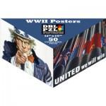 Pigment-and-Hue-DBLWWII-00902 Beidseitiges Puzzle - Amerikanische Plakate aus dem 2ten Weltkrieg