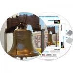 Pigment-and-Hue-RBELL-41225 Fertiges Rundpuzzle - Die Freiheitsglocke