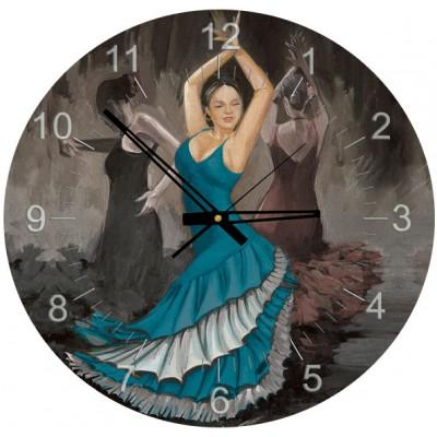 Art-Puzzle-4139 Puzzle-Uhr - Flamenco