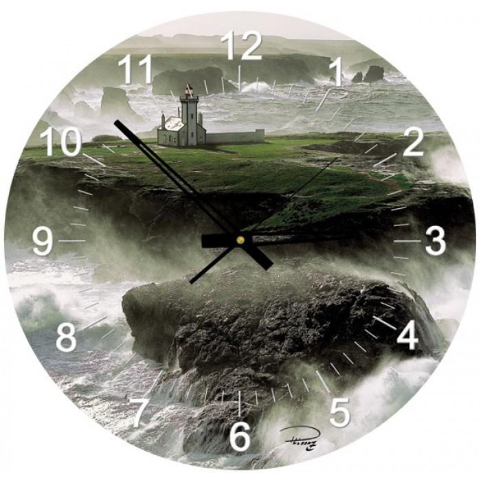 Puzzle-Uhr - Leuchtturm von Poulains