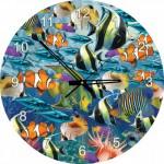 Art-Puzzle-4292 Puzzle-Uhr - Tropische Fische