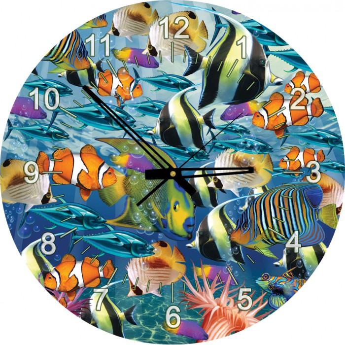 Puzzle-Uhr - Tropische Fische