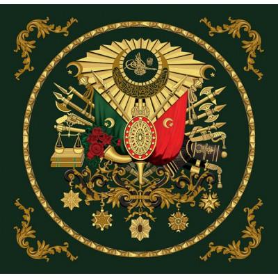 Puzzle Art-Puzzle-4307 Ottomanisches Wappen mit Goldprägung
