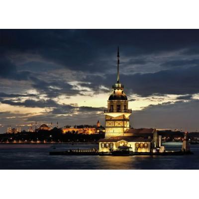 Puzzle Art-Puzzle-4327 Turkey: Maiden's Tower