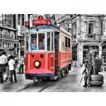 Puzzle  Art-Puzzle-4336 Straßenbahn in Beyoglu, Türkei