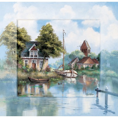 Puzzle Art-Puzzle-4393 Back Home