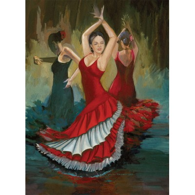 Puzzle Art-Puzzle-4400 Flamenco