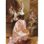 Puzzle  Art-Puzzle-4600 Pino Daeni: Dancing in Barcelona