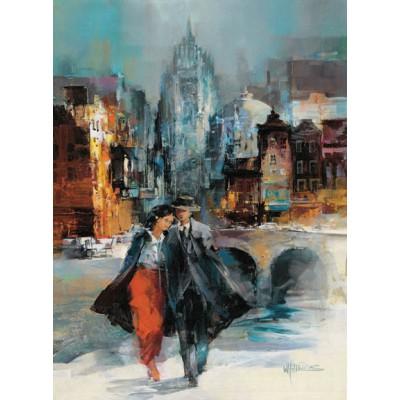 Puzzle Art-Puzzle-4604 Willem Haenraets: Romance I