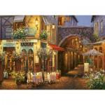 Puzzle  Art-Puzzle-4632 Restaurant - Salon de Thé: Au Comte Roger