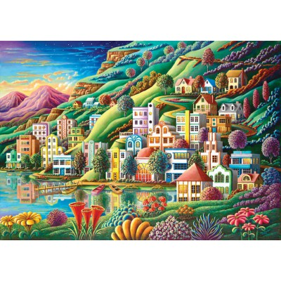 Puzzle Art-Puzzle-4641 Hidden Harbor