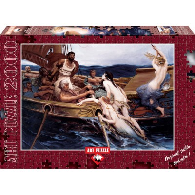 Puzzle Art-Puzzle-4701 Herbert James Draper: Ulysse and the Sirens