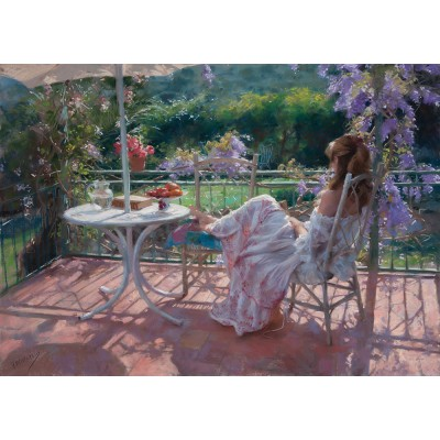 Puzzle Art-Puzzle-4710 Vicente Romero Rodendo: My Loneliness