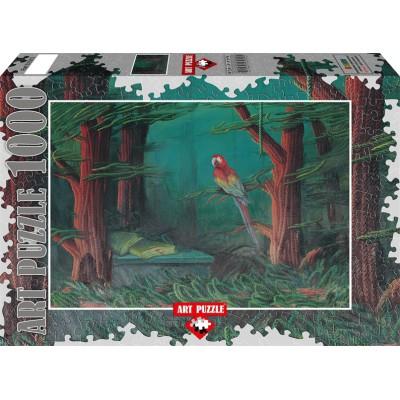 Puzzle Art-Puzzle-61015 Ahmet Yesil - Der Gast des Waldes