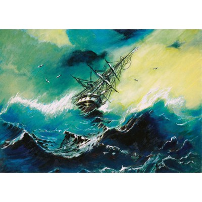 Puzzle Art-Puzzle-71021 Storm at the Sea