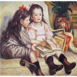 Puzzle  Art-Puzzle-81046 Renoir Auguste: Portrait of Children