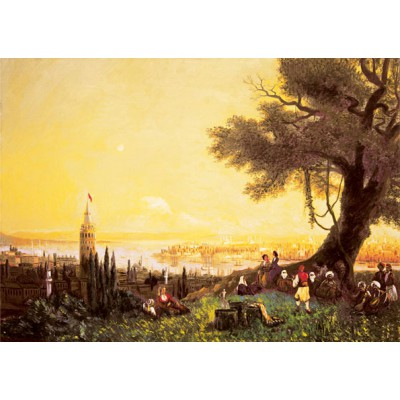 Puzzle Art-Puzzle-81052 Turkey: Galata