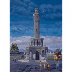 Puzzle  Art-Puzzle-81054 Turkey: The Clock Tower, Izmir