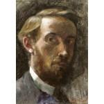 Puzzle   Edouard Vuillard: Self-Portrait, Aged 21, 1889