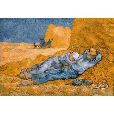 Puzzle Grafika-Kids-00001 XXL Teile - Van Gogh Vincent: La Sieste (d'après Millet), 1890