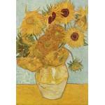 Puzzle  Grafika-Kids-00031 XXL Teile - Vincent van Gogh: Stilleben mit 12 Sonnenblumen, 1888