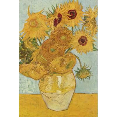 Puzzle Grafika-Kids-00033 Vincent van Gogh: Stilleben mit 12 Sonnenblumen, 1888