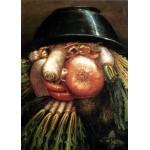 Puzzle  Grafika-Kids-00053 Arcimboldo Giuseppe: Der Gemüsegärtner