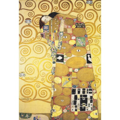 Puzzle Grafika-Kids-00069 XXL Teile - Klimt Gustav: Die Umarmung