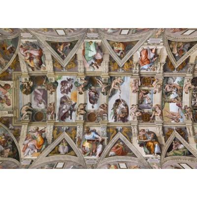 Puzzle Grafika-Kids-00076 Michelangelo: Die Sixtinische Kapelle