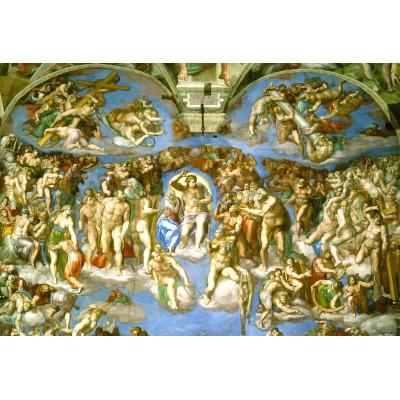 Puzzle Grafika-Kids-00078 XXL Teile - Michelangelo: Das jüngste Gericht