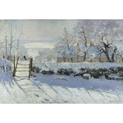 Puzzle Grafika-Kids-00081 XXL Teile - Claude Monet: Die Elster, 1868-1869