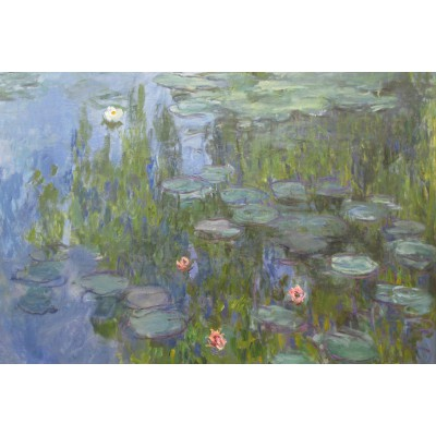 Puzzle Grafika-Kids-00086 Claude Monet: Nymphéas, 1915