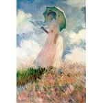 Puzzle  Grafika-Kids-00092 Claude Monet: La Femme à l'Ombrelle, 1875