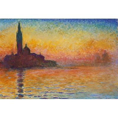 Puzzle Grafika-Kids-00095 XXL Teile - Claude Monet: Saint-Georges-Majeur au Crépuscule, 1908