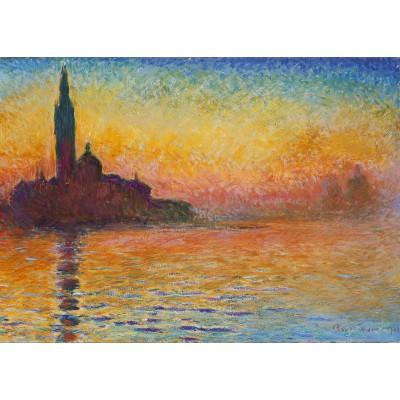Puzzle Grafika-Kids-00096 Claude Monet: Saint-Georges-Majeur au Crépuscule, 1908