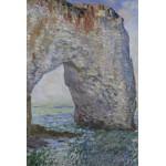 Puzzle  Grafika-Kids-00100 Claude Monet: Le Manneporte à Étretat, 1886