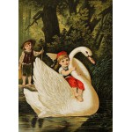 Puzzle  Grafika-Kids-00114 Hansel und Gretel, illustration von Carl Offterdinger