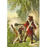 Puzzle  Grafika-Kids-00143 XXL Teile - Robinson Crusoe von Offterdinger & Zweigle