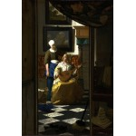 Puzzle  Grafika-Kids-00157 Johannes Vermeer: Der Liebesbrief, 1669-1670