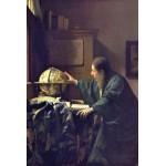 Puzzle  Grafika-Kids-00159 Vermeer Johannes: Der Astronom, 1668