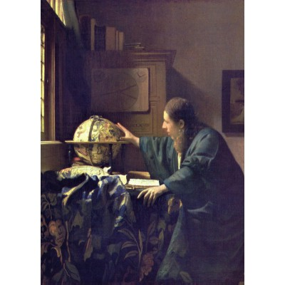 Puzzle Grafika-Kids-00160 Vermeer Johannes: Der Astronom, 1668