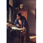 Puzzle  Grafika-Kids-00161 XXL Teile - Vermeer Johannes: Der Geograph, 1668-1669