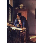Puzzle  Grafika-Kids-00163 Vermeer Johannes: Der Geograph, 1668-1669
