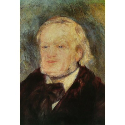 Puzzle Grafika-Kids-00167 XXL Teile - Renoir Auguste: Richard Wagner, 1882