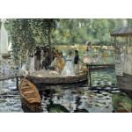 Puzzle  Grafika-Kids-00177 Auguste Renoir: La Grenouillère, 1869